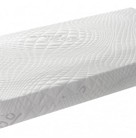 Saplings Cool Plus Organic Cotton (Sprung Interior) Cot Bed Safety Mattress - 140 x 70cm