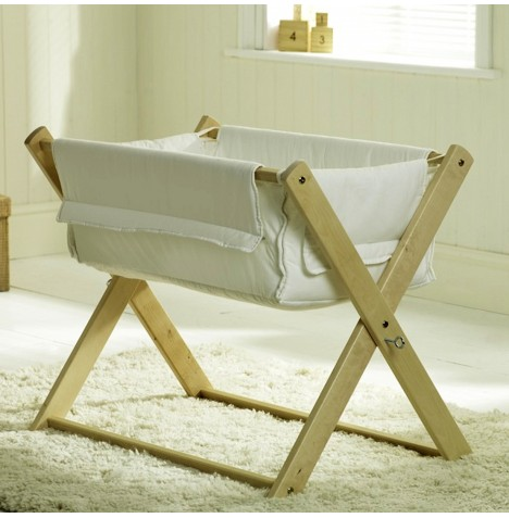 Saplings Katie Crib & Safety Mattress - Natural