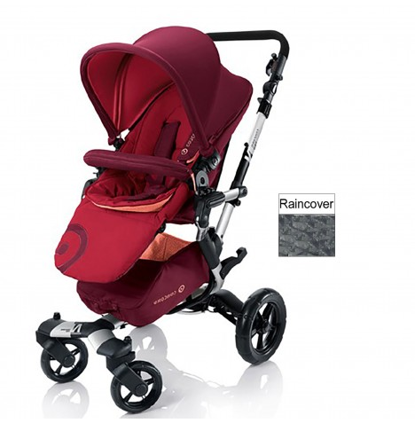 Concord Neo Pushchair Stroller - Lava Red