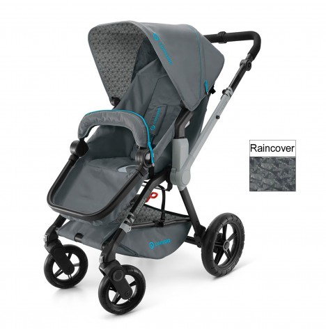 Concord Wanderer Buggy Stroller Pushchair - Stone Grey
