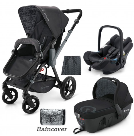 Concord Wanderer Travel Set Travel System - Raven Black