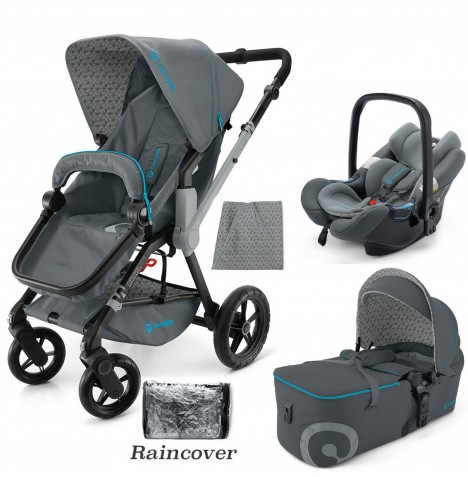 Concord Wanderer Mobility Set Travel System - Stone Grey