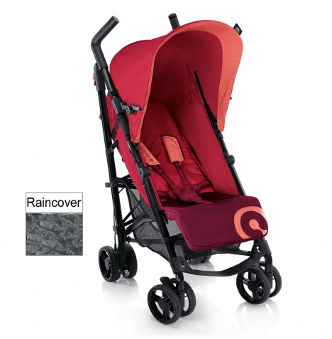 Concord Quix Stroller Pushchair - Lava Red