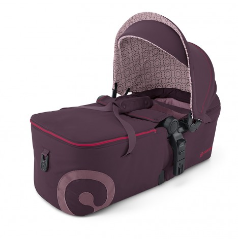 Concord Scout Folding Carrycot - Raspberry Pink