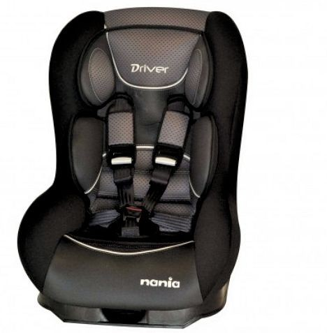 Nania SP Driver Group 0/1 Car Seat - Graphic Black