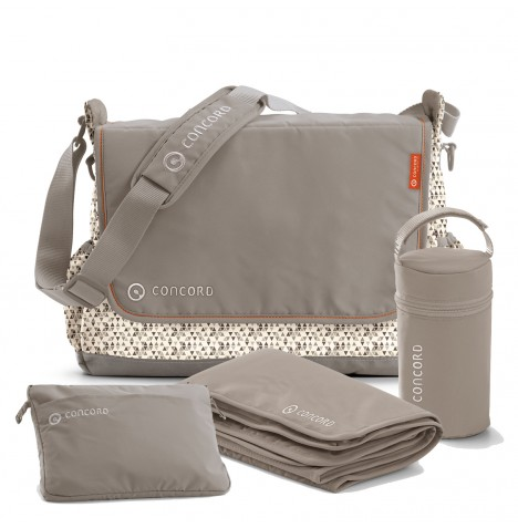 Concord City Changing Bag - Cool Beige