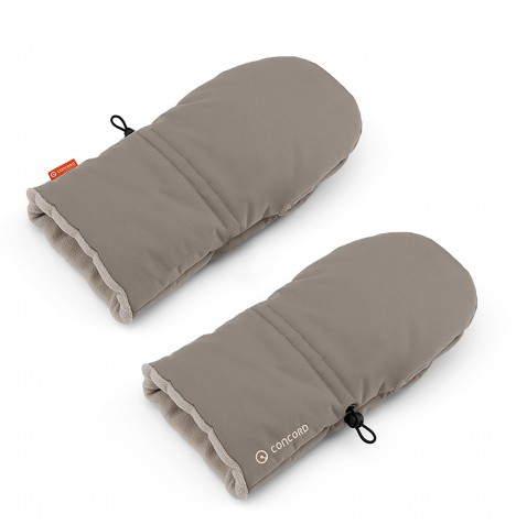 Concord Igloo Pushchair Gloves - Cool Beige