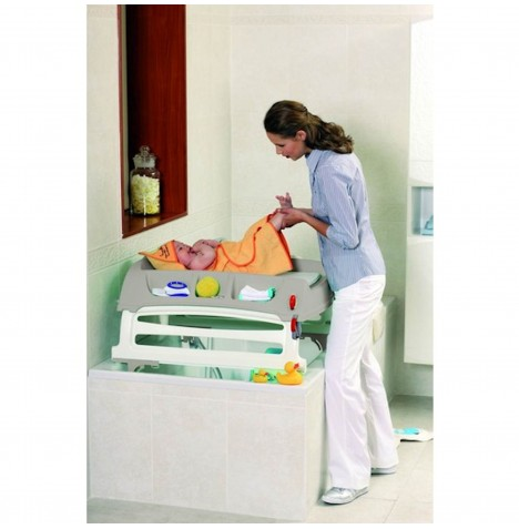 OkBaby Flat Baby Changing Unit - Taupe
