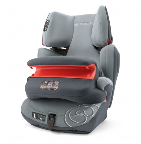 Concord Transformer Pro Group 1,2,3 Isofix Car Seat - Graphite Grey