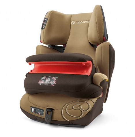 Concord Transformer Pro Group 1,2,3 Isofix Car Seat - Walnut Brown