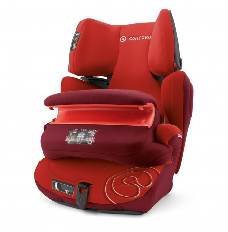 Concord Transformer Pro Group 1,2,3 Isofix Car Seat - Tomato Red