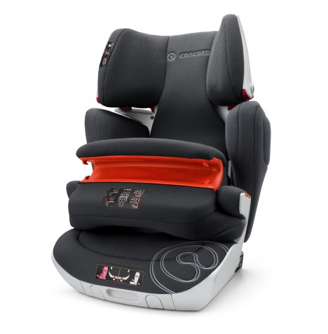 Concord Transformer XT Pro Group 1,2,3 Isofix Car Seat - Midnight Black