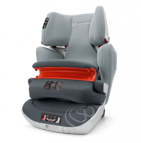 Concord Transformer XT Pro Group 1,2,3 Isofix Car Seat - Graphite Grey