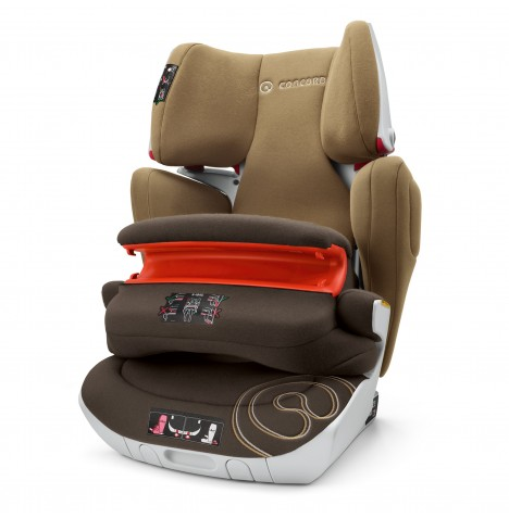 Concord Transformer XT Pro Group 1,2,3 Isofix Car Seat - Walnut Brown