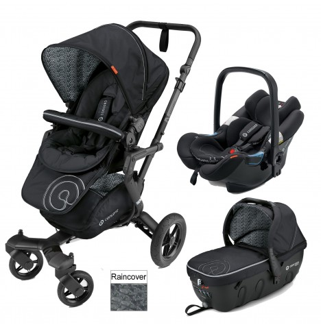 Concord Neo Travel Set Travel System - Midnight Black