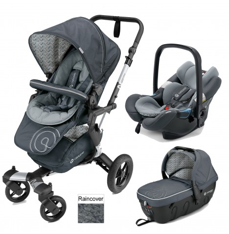 Concord Neo Travel Set Travel System - Graphite Grey