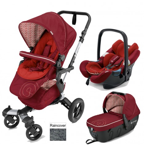 Concord Neo Travel Set Travel System - Tomato Red