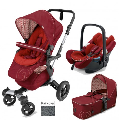 Concord Neo Mobility Set Travel System - Tomato Red