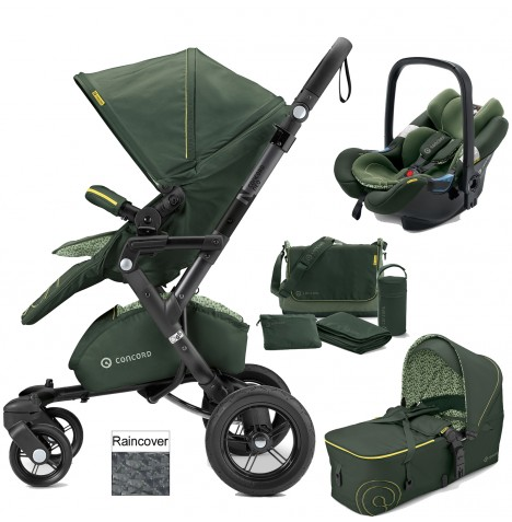 Concord Neo Mobility Set Travel System - Jungle Green
