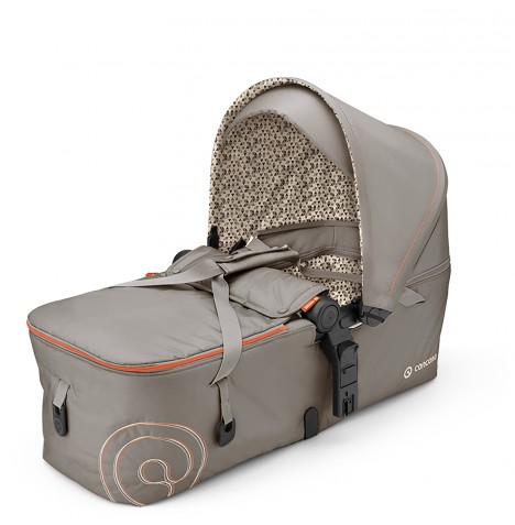Concord Scout Folding Carrycot - Cool Beige