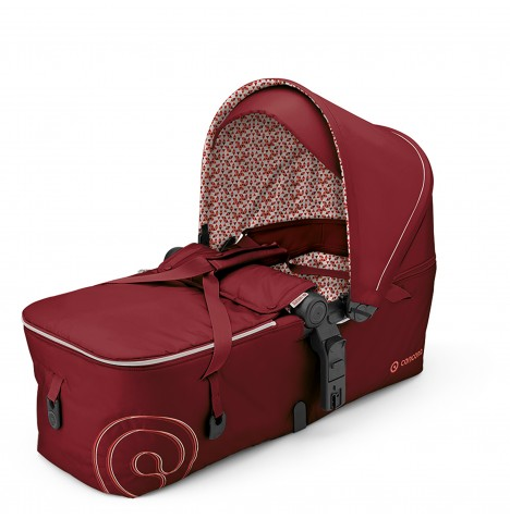 Concord Scout Folding Carrycot - Tomato Red