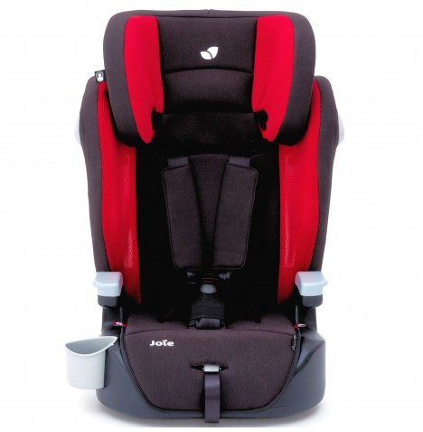 Joie Elevate Group 123 High Back Booster Car Seat - Cherry