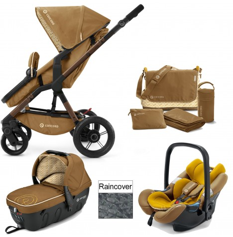 Concord Wanderer Travel Set Travel System - Sweet Curry
