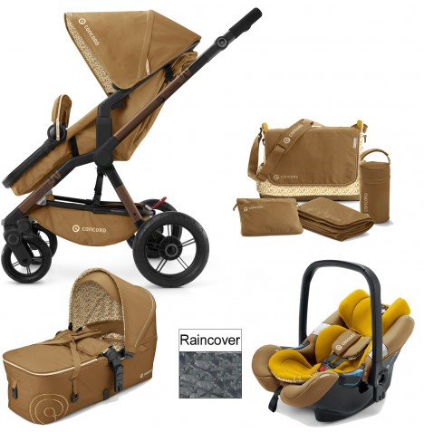 Concord Wanderer Mobility Set Travel System - Sweet Curry