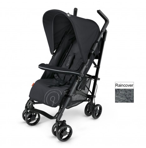 Concord Quix Plus Stroller Pushchair - Midnight Black