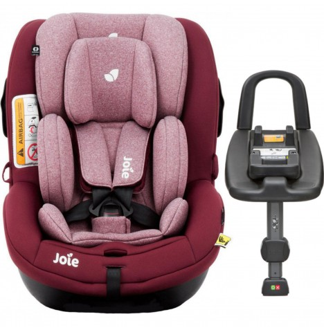Joie i-Anchor Advance Group 0+/1 Baby Car Seat And Isofix Base - Merlot