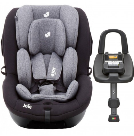 Joie i-Anchor Advance Group 0+/1 Baby Car Seat And  Isofix Base - Two Tone Black
