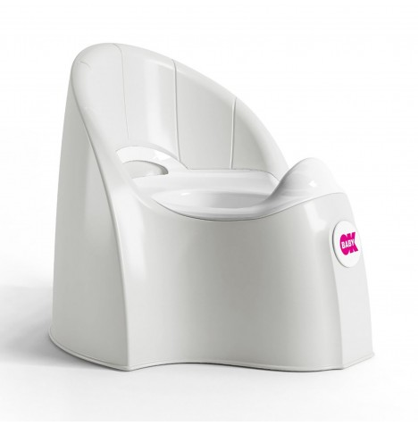 Ok Baby Pasha Potty - White