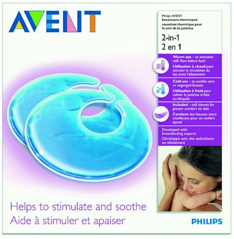 Philips Avent 2 In 1 Thermopads - 2 Pack