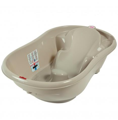 ok baby onda baby bath taupe buy at online4baby. Black Bedroom Furniture Sets. Home Design Ideas