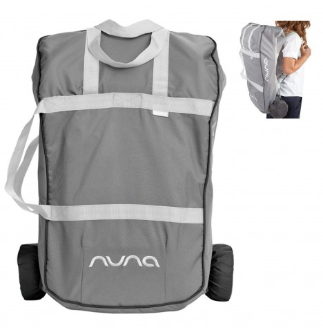 Nuna / Joie Transport Bag to fit Pepp & Pepp Luxx - Charcoal Grey