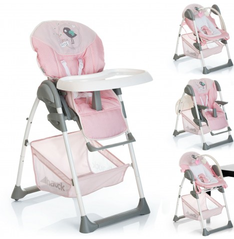 Hauck Sit n Relax 2 in 1 Highchair / Bouncer - Birdie