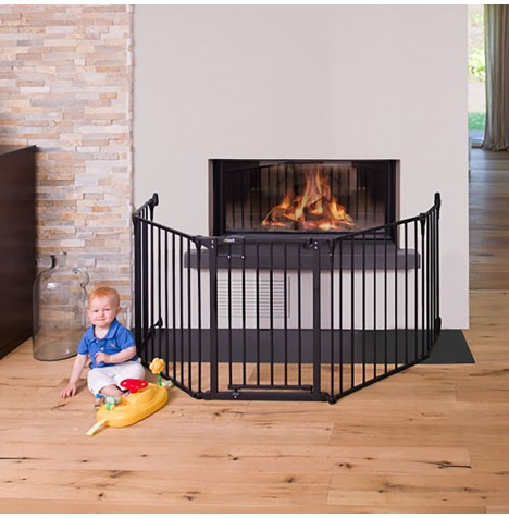 Hauck Fireplace Guard XL - Charcoal
