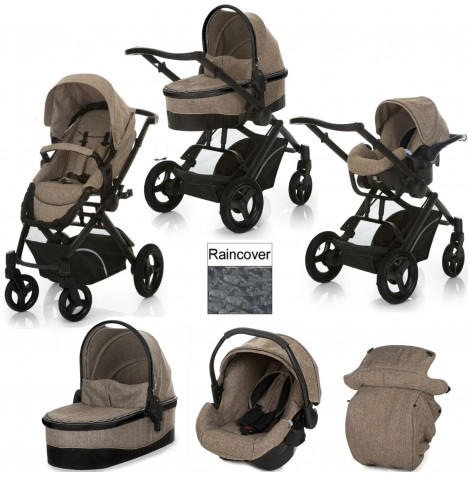 Hauck Maxan 4 Trio Set Travel System - Beige