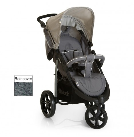 Hauck Viper SLX Pushchair Stroller - Smoke / Grey
