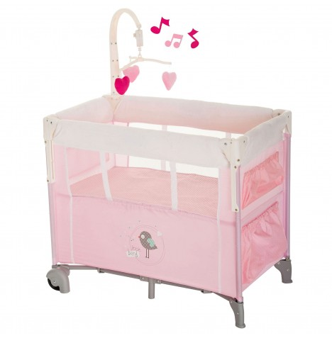 Hauck Dream n Care Center Bassinette Travel Cot - Birdie