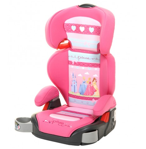new graco disney princess pink junior maxi plus booster seat car seat group 2 3 ebay. Black Bedroom Furniture Sets. Home Design Ideas