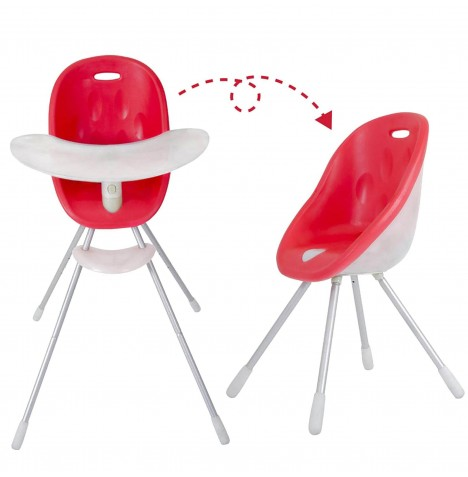 Phil & Teds Poppy Highchair - Cranberry