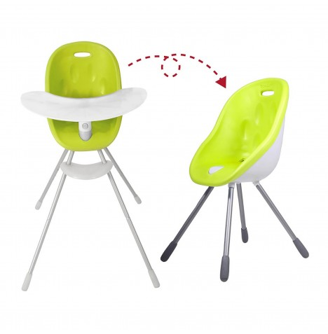 Phil & Teds Poppy Highchair - Lime