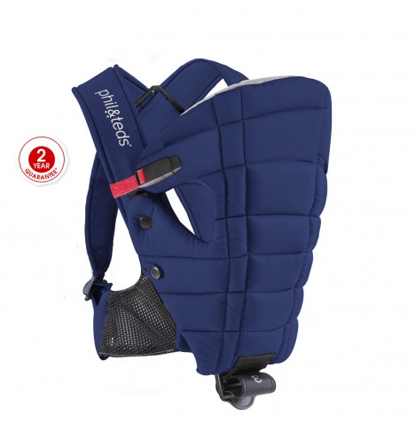 Phil & Teds Emotion Baby Carrier - Midnight Blue