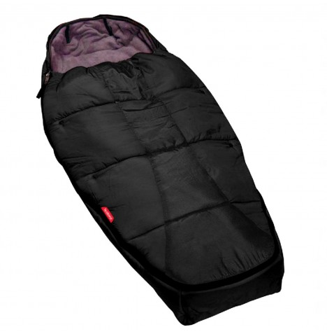 Phil & Teds Snuggle & Snooze Sleeping Bag / Footmuff - Black