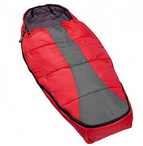 Phil & Teds Snuggle & Snooze Sleeping Bag / Footmuff - Red
