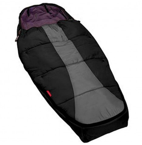 Phil & Teds Snuggle & Snooze Sleeping Bag / Footmuff - Black / Charcoal