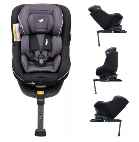 Joie Spin 360 Group 0+/1  Isofix Car Seat - Two Tone Black