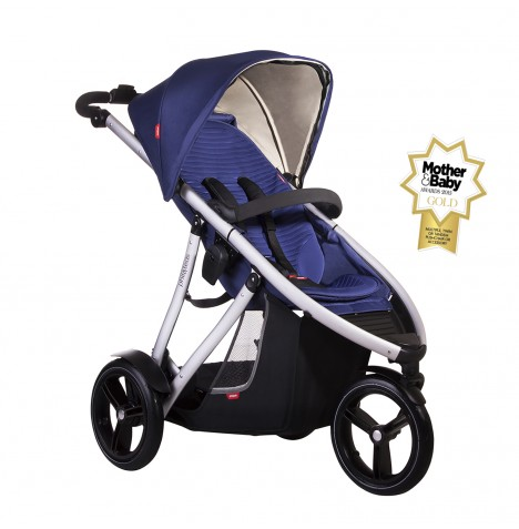 Phil & Teds Vibe V3 Pushchair - Cobalt