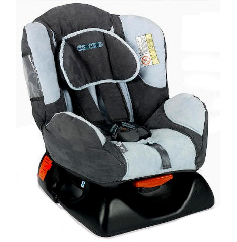 My Child Remi Plus Car Seat Group 0/1 - Graphite Grooves